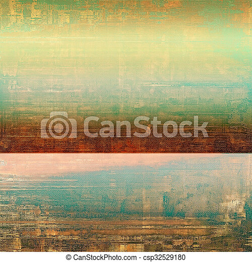 Vintage texture ideal for retro backgrounds. With different color patterns: yellow (beige); brown; blue; green - csp32529180