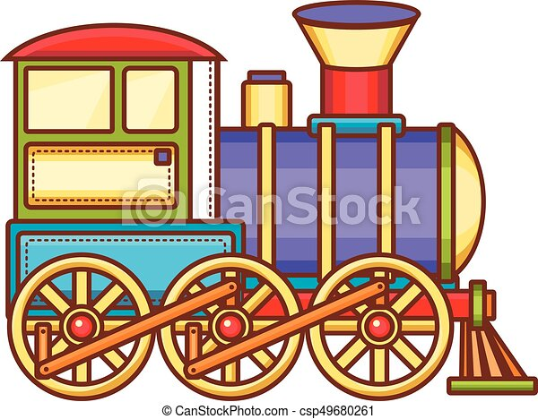 vintage train children s toy christmas decorations vintage train rh canstockphoto com christmas toy train clipart christmas toy train clipart