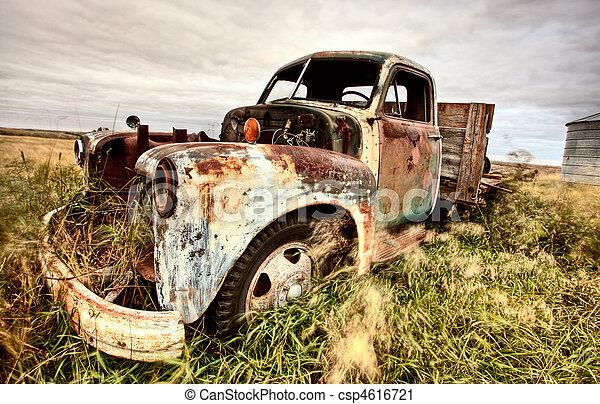 Vintage Truck - csp4616721