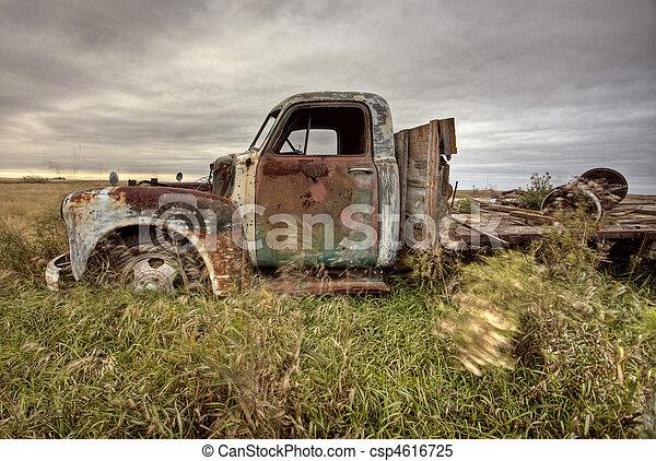 Vintage Truck - csp4616725