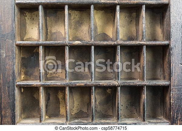 vintage type case - csp58774715