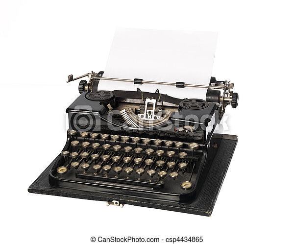 Vintage typewriter - csp4434865