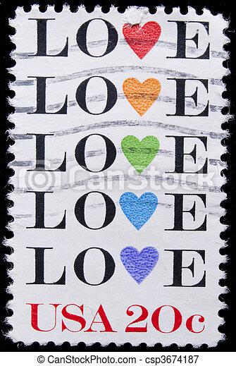 vintage us commemorative postage stamp united states circa 1984