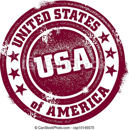Vintage USA Stamp - csp10145570