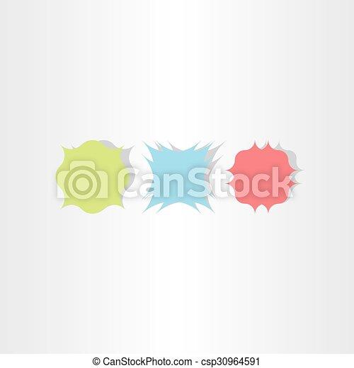 vintage vector frame background set design - csp30964591