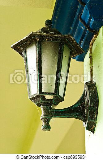 vintage wall lamp - csp8935931