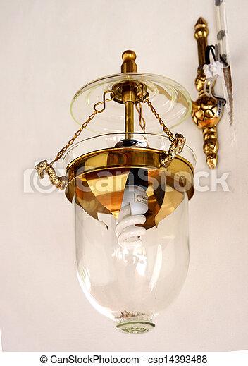 vintage wall lamp - csp14393488