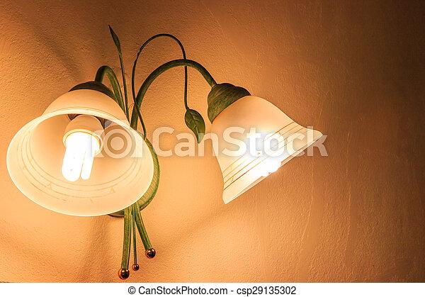 Vintage wall lamp - csp29135302