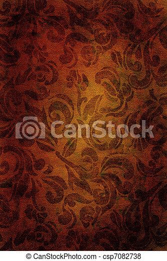 Vintage wallpaper background - csp7082738