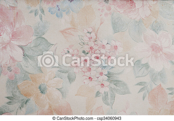 vintage wallpaper decorative background - csp34060943