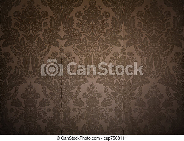 Vintage Wallpaper From Kings Palace With Classy Patterns
