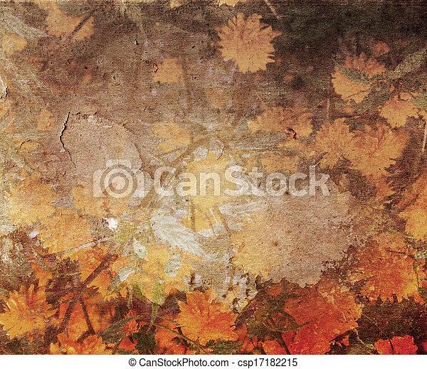 Vintage Wallpaper - csp17182215