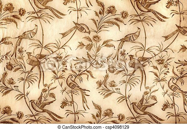 Vintage wallpaper - csp4098129