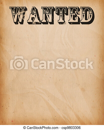 Vintage wanted poster background stock illustration - Search Clip ...