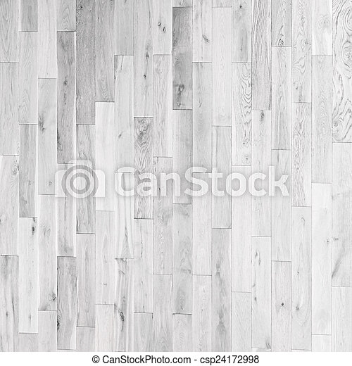 Vintage White Wooden Parquet Flooring Texture Background From A Weathered