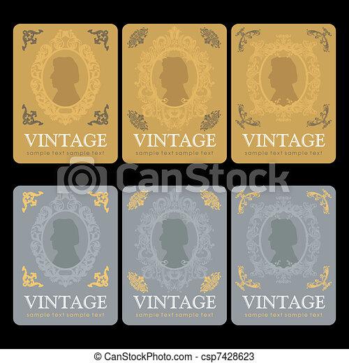 Vintage Wine Labels Design Template - Wine label design templates free