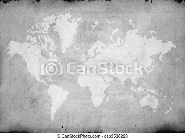Close up of vintage world map drawings search clipart vintage world map csp3538223 gumiabroncs Images