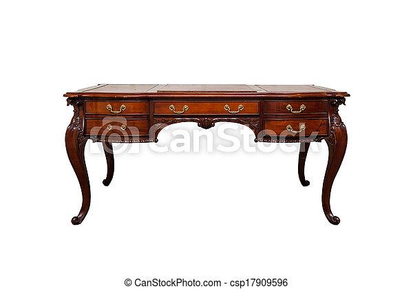 Vintage Writing Desk   Csp17909596
