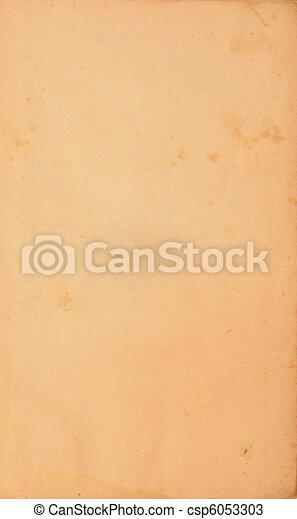Vintage yellow old paper - csp6053303