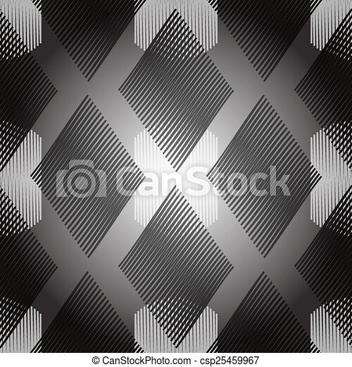Vintage zigzag seamless pattern - csp25459967