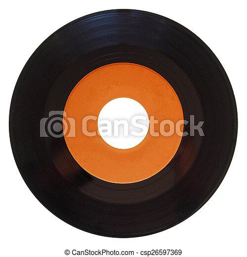 Vinyl record isolated - csp26597369