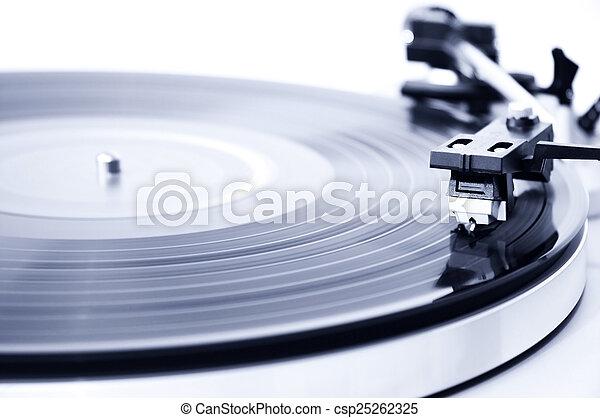 Vinyl record player - csp25262325