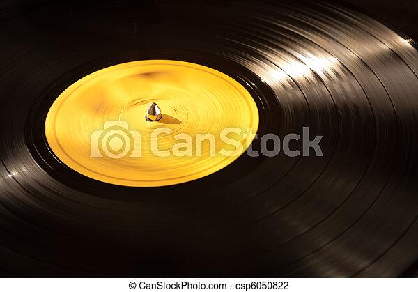 Vinyl Record Playing - csp6050822