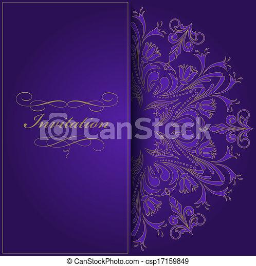 viola, invito - csp17159849
