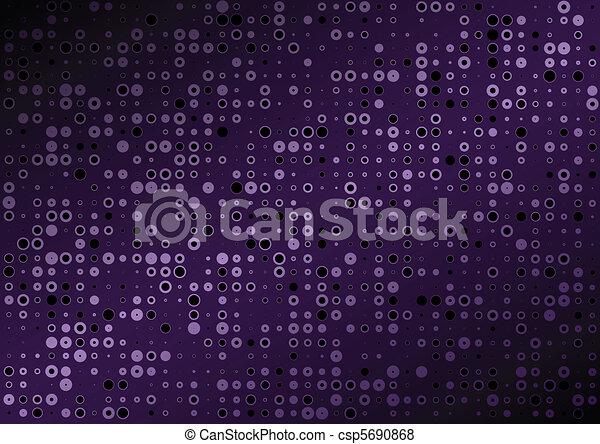 viola, vettore, fondo, puntino - csp5690868