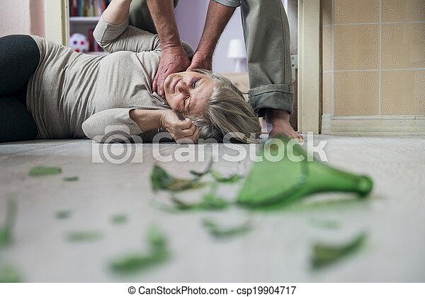 violence, huiselijk - csp19904717