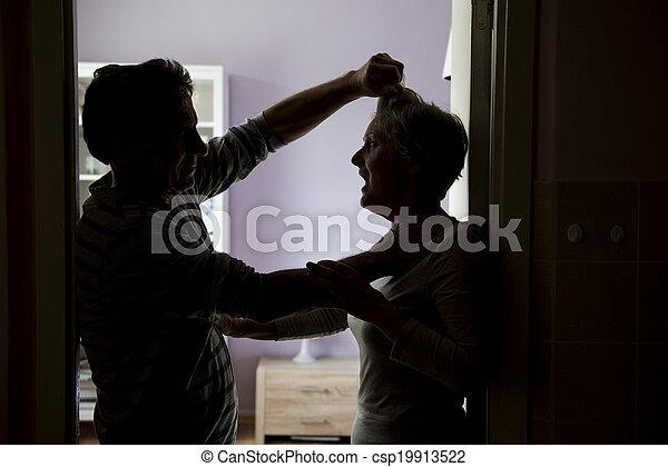 violence, huiselijk - csp19913522