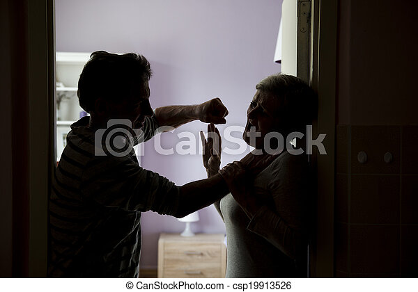 violence, huiselijk - csp19913526