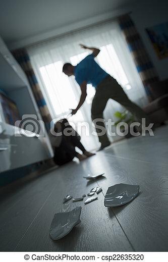 violence, huiselijk - csp22635320