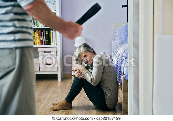 violence, huiselijk - csp20187199