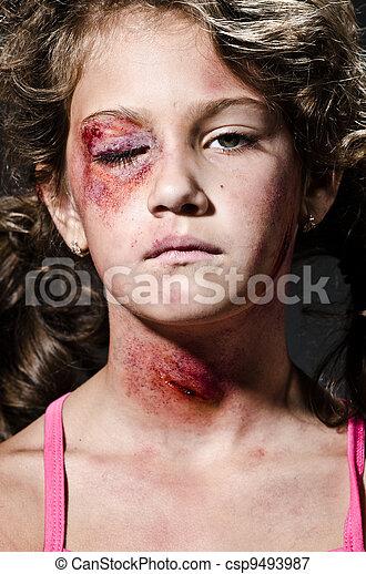 Violencia doméstica - csp9493987
