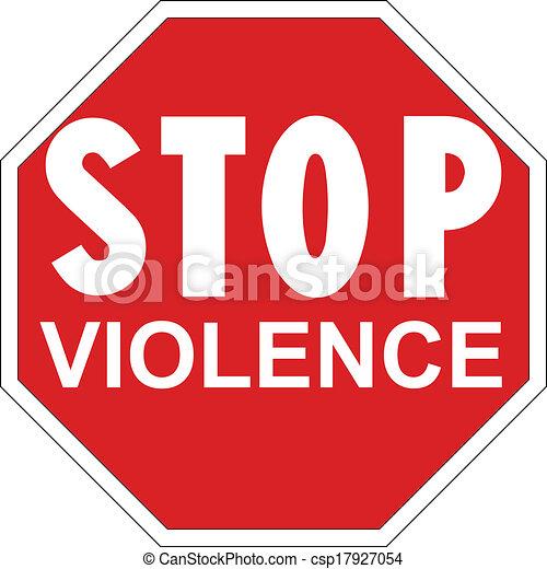 Para la violencia - csp17927054