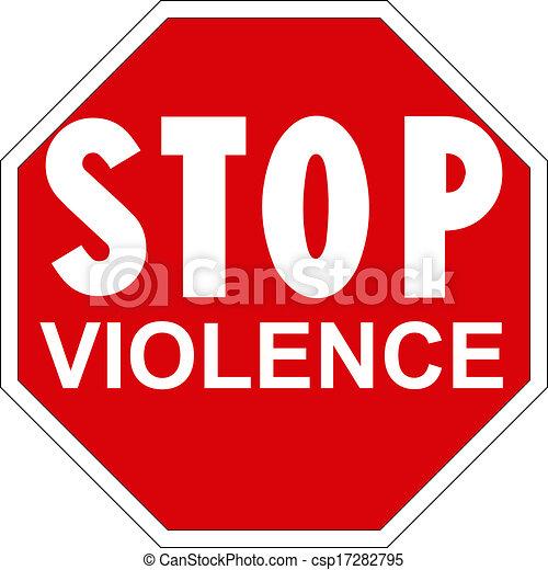 Para la violencia - csp17282795