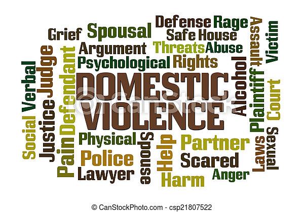 violenza, domestico - csp21807522