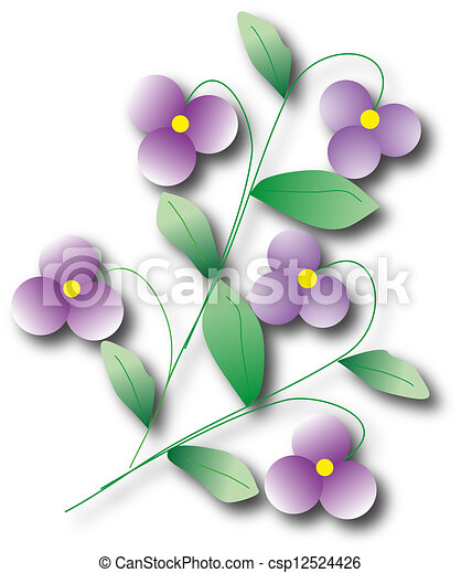 violet background - csp12524426