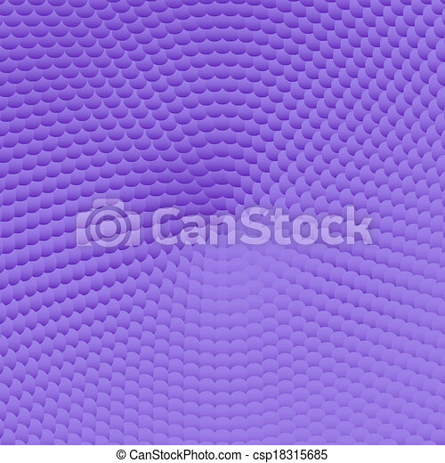 Violet background pattern with 3d effect - csp18315685