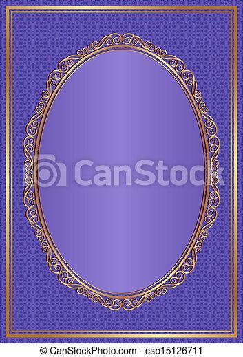 violet background - csp15126711