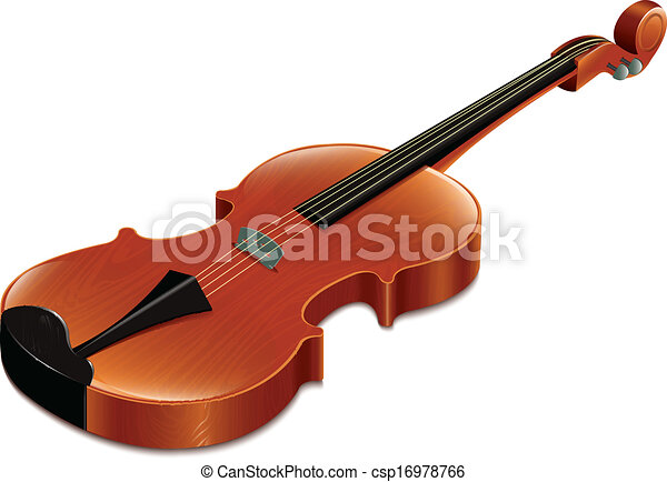 violin clip art vector - search drawings and graphics images