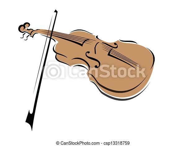 Violin - csp13318759