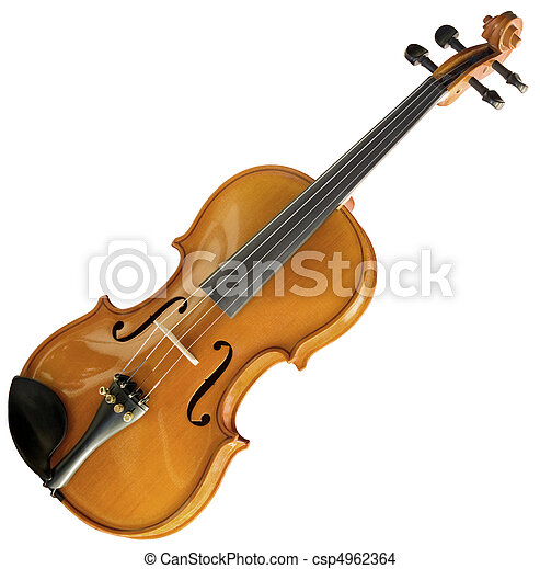 Violin cutout - csp4962364