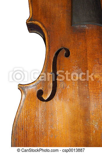 Violin f Hole - csp0013887