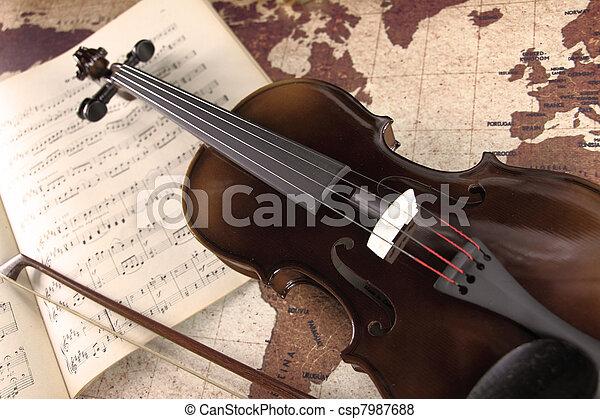 Violin - csp7987688