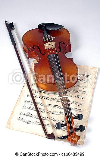 violino, antigas - csp0433499