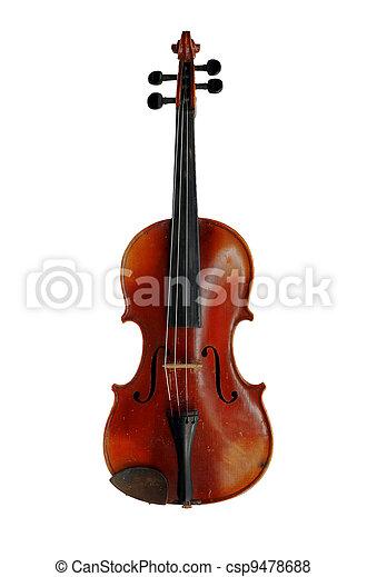 violino, antigas - csp9478688
