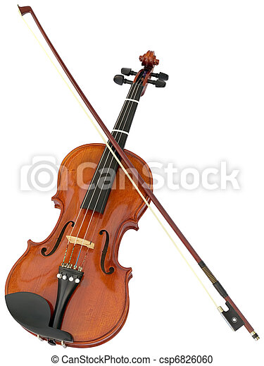 violon, coupure - csp6826060