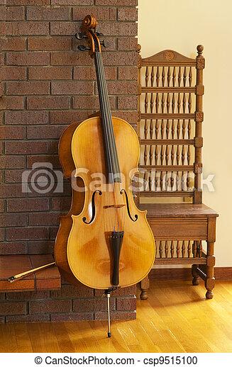 violoncello, of, cello - csp9515100